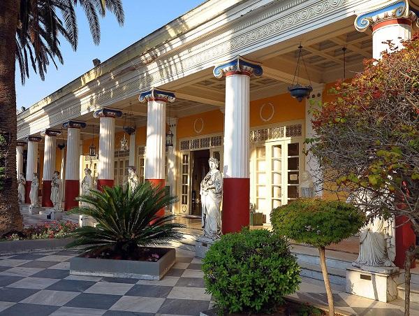 дворец ахиллеон, корфу, греция