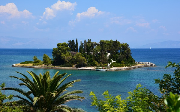 остров понтикониси, греция