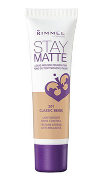 Тональный мусс Rimmel Stay Matte Liquid Mousse