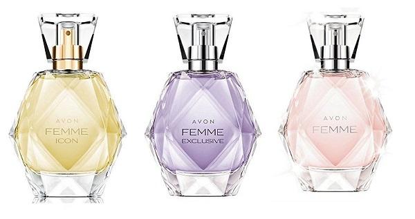 линия ароматов Avon Femme