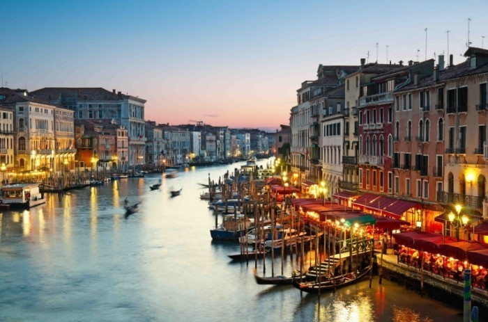 Гранд канал - достопримечательности Венеции