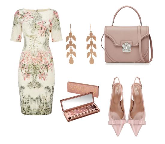 модные сеты 2016, образы на лето - платье пастельного оттенка