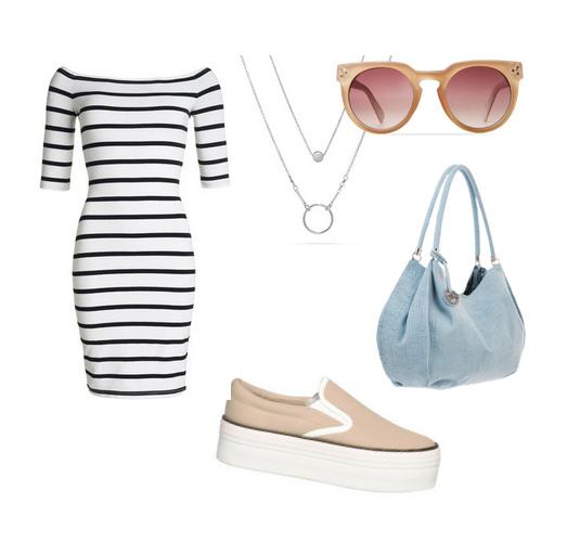слипоны - модный сет одежды на лето 2016