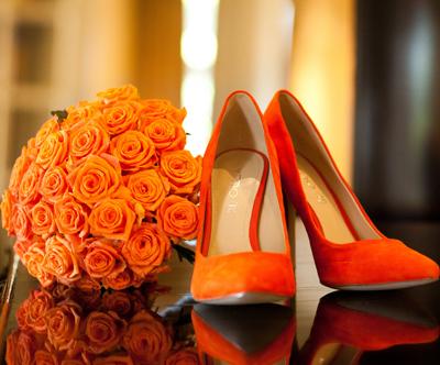 аксессуары для невесты, осенняя свадьба