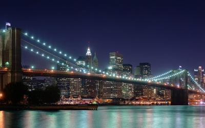 бруклинский мост, нью йорк