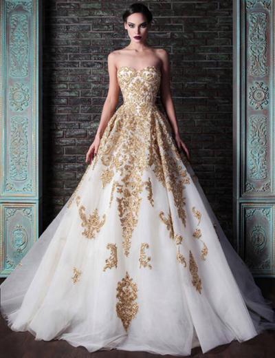 золотистое свадебное платье, невеста, осенняя свадьба