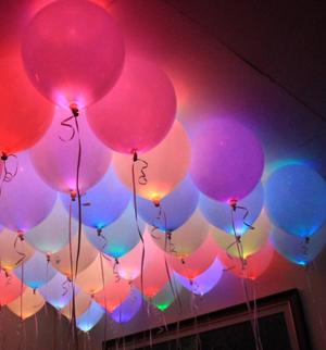 надувные светящиеся шары