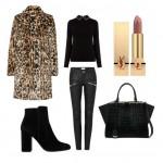 Пальто с леопардовым принтом — с чем носить?