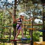 Веревочный парк для детей: безопасный экстрим