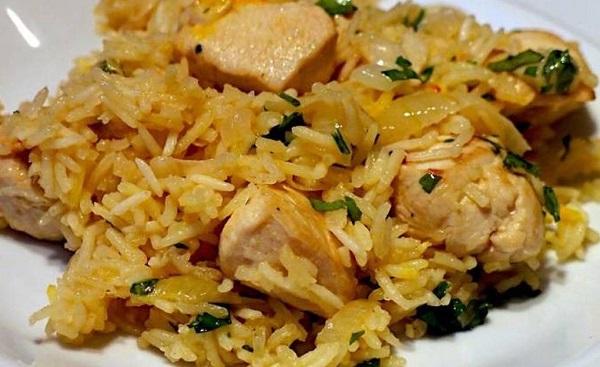 курица с рисом в мультиварке - рецепт