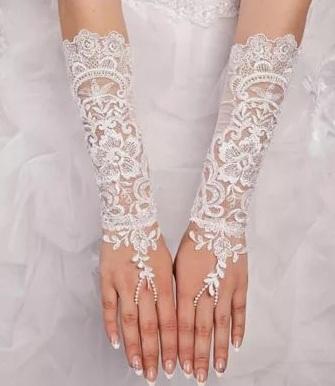 длинные свадебные перчатки 2017