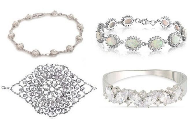модные браслеты для невесты 2017