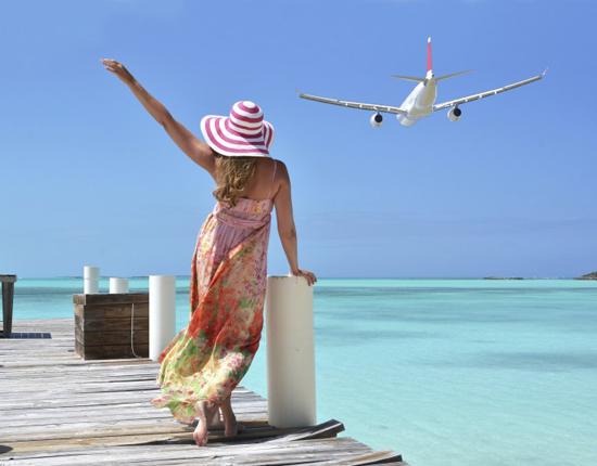 отдых и перелет на самолете в первый раз