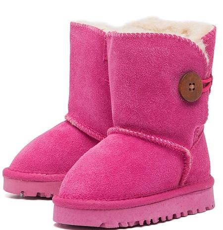 розовые угги для девочек