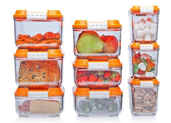 хранение пищи в пластиковых контейнерах