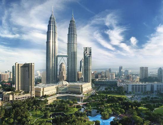 башни в Куала-Лумпур