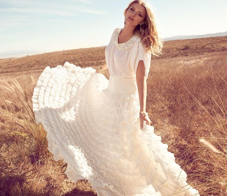 романтичный стиль одежды