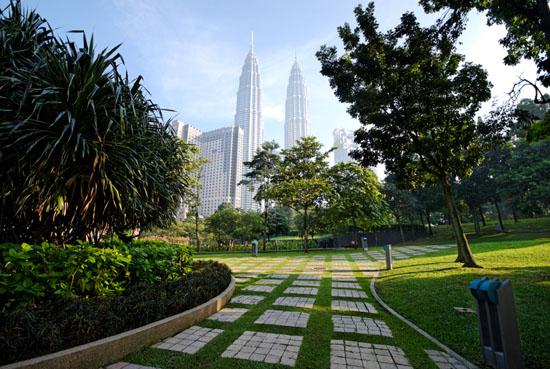 центральный парк в Куала-Лумпур