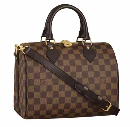 сумка speedy 30 bandouliere от модного дома louis vuitton