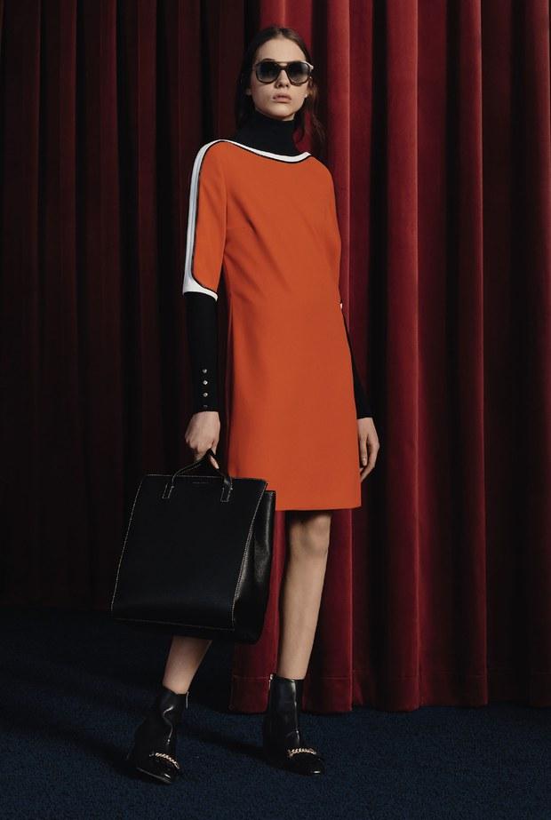 трикотажное платье - осень 2017