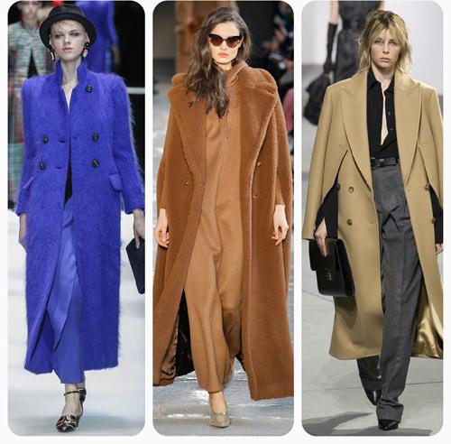Giorgio Armani, Max Mara, Michael Kors - объемное пальто