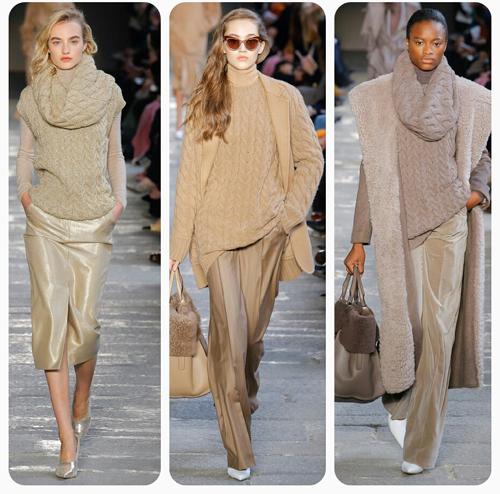 Max Mara - вязаная одежда, вязаный свитер и шарф