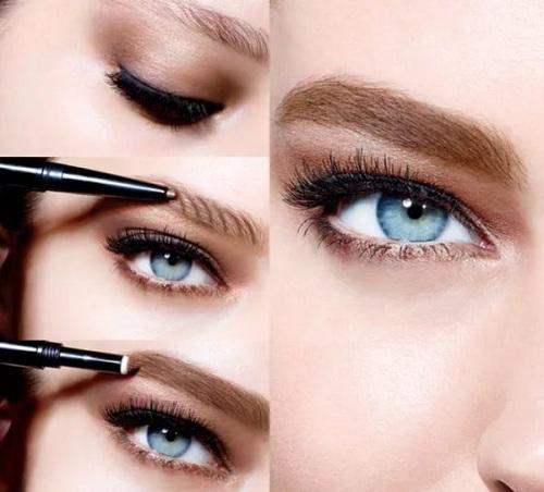 современные средства для макияжа бровей, фото, описание
