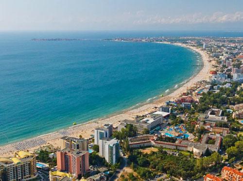 Солнечный Берег, Болгария, море и пляж, фото