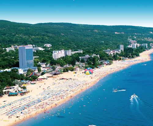 курорт Золотые Пески, Болгария, фото