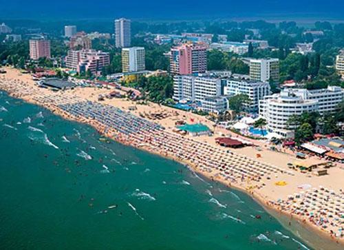курорт Солнечный Берег, Болгария, фото