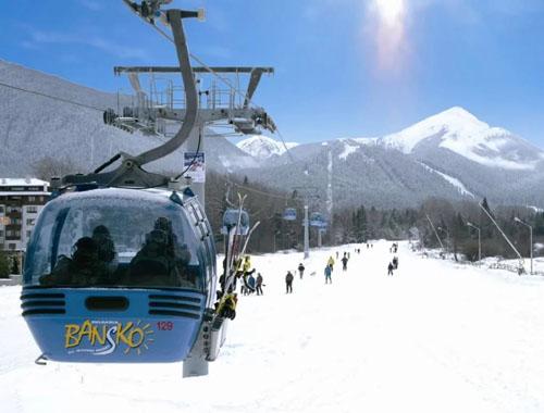 лыжный курорт Банско, фото
