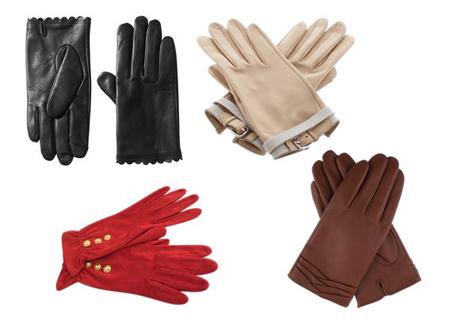 перчатки - асессуар осени