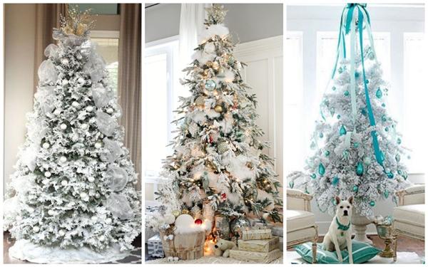 декор елки на новый год, дизайн новогодней елки фото