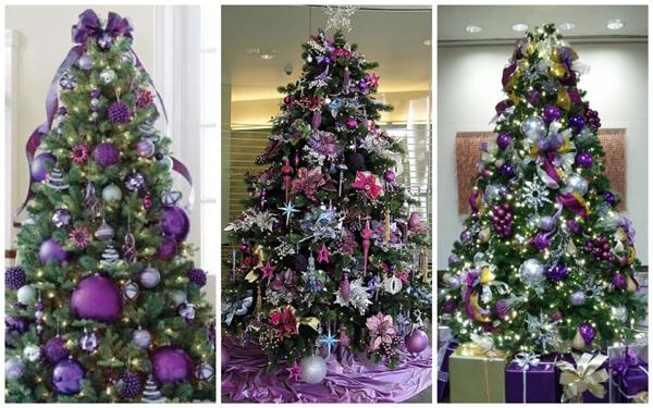 декор новогодней елки, идеи декора елки