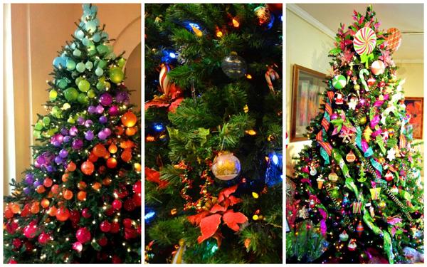 дизайн новогодней елки, фото, идеи декора елки