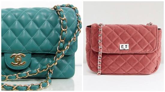 сумка стеганая, женская стеганая сумка (