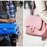 Стеганая сумка — с чем носить?