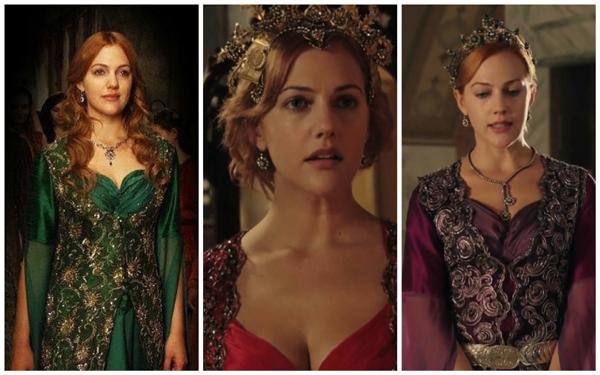 платья хюррем султан