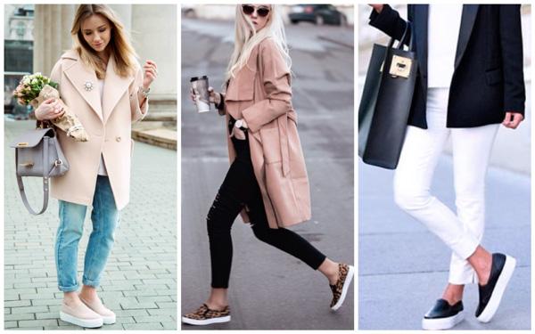 самая модная обувь лето 2018 - модные слипоны на лето