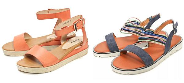 самая модная обувь лето 2018 - сандалии с тонкими ремешками