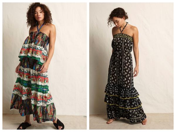 самые модные платья на лето 2018 - платье с воланом