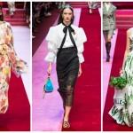 Обзор модной коллекции Dolce & Gabbana — лето 2018