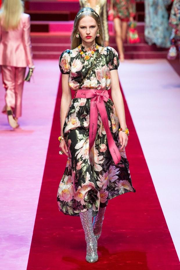 Dolce & Gabbana весна-лето 2018 (12)