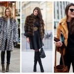 Модные меховые шубы сезона зима 2018-2019