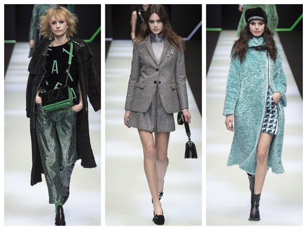 254d78d63e2b модная коллекция Emporio Armani осень-зима 2018-2019, обзор модных трендов  осени и