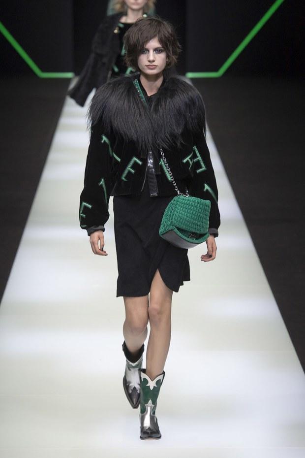 модная коллекция Emporio Armani осень-зима 2018-2019, обзор модных трендов осени