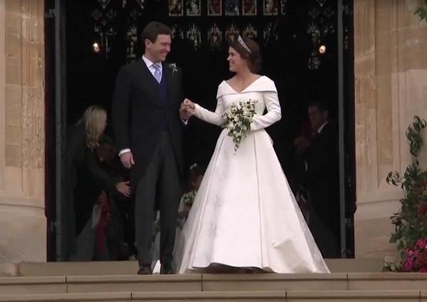свадьба принцессы Евгении Йоркской