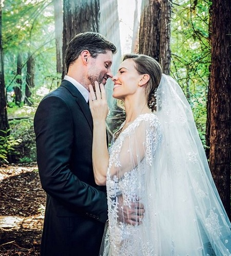 свадьба хилари свонк 2018