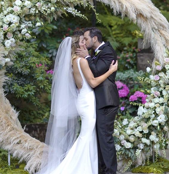 свадьба эшли грин и пола коури, фото