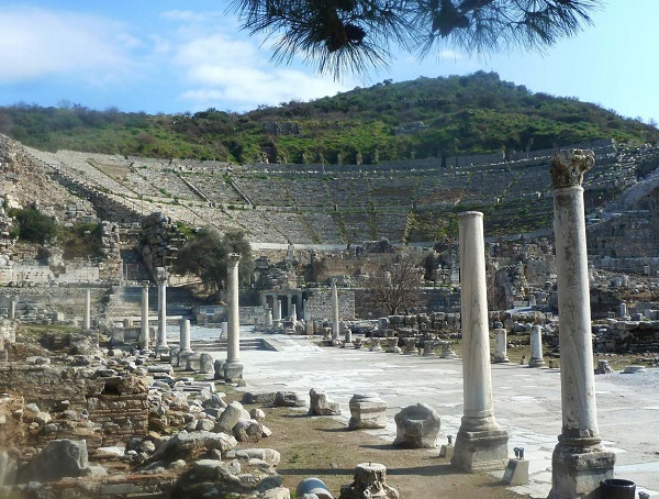 эфес - красота античности